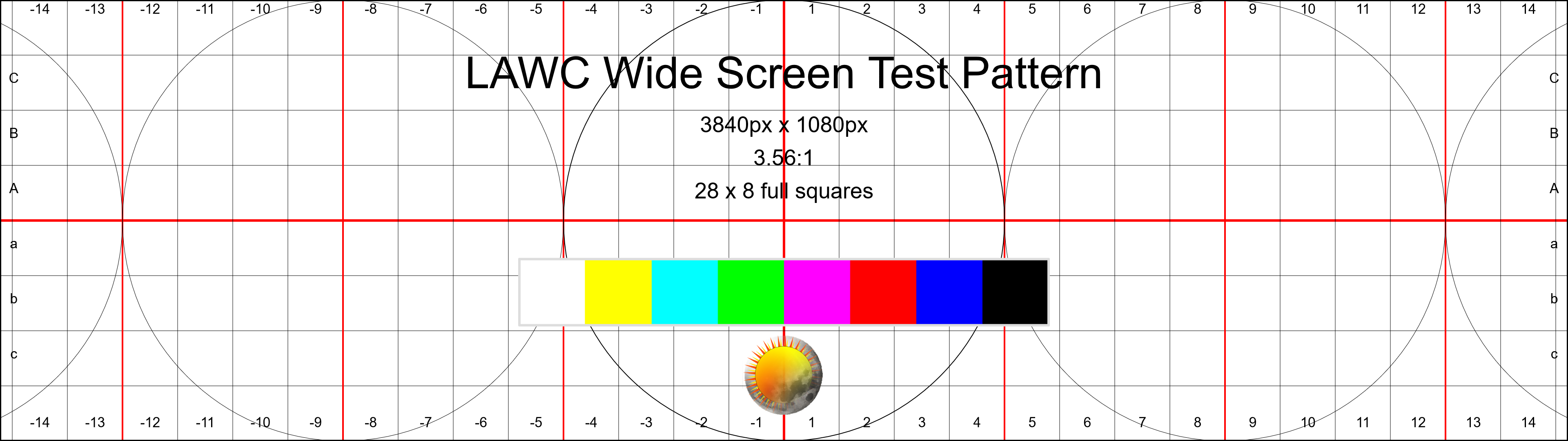 Wide Screen Test Pattern