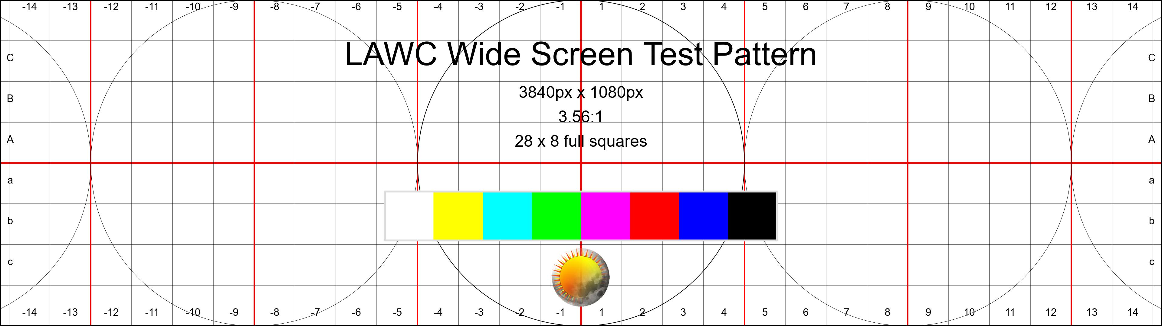 Wide Screen Test Pattern
